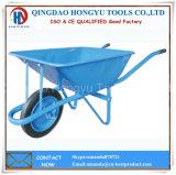 Fornecedor de China do carrinho de mão de roda da alta qualidade com a roda de borracha contínua