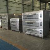 Forno elettrico della piattaforma di cottura del pane del gas in strumentazione di cottura