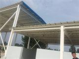 Große Überspannungs-flaches Dach-Stahlkonstruktion-Gebäude für Lager/Werkstatt