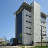Светлое офисное здание стальной структуры с 5 Stroey