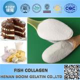 Peptide do colagénio da pele dos peixes da beleza 100%