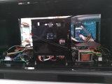Modello TV della stazione di pompa della benzina il singolo può essere impostato