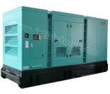 stille Diesel 563kVA Yuchai Generator voor het Project van de Bouw met Certificatie Ce/Soncap/CIQ/ISO
