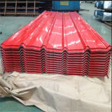 Prix enduit d'une première couche de peinture de feuille de toit de zinc de matériau de construction