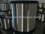 Étamage en aluminium plaqué de cuivre de fil de Ccaw