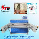 Печатная машина Stc-Z01 жары тенниски машины передачи тепла гидравлического давления большого формата давления Machine100*120cm жары гидравлического давления