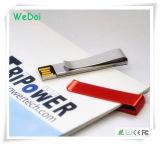 Förderndes Geschenk-Metallclip USB-Blitz-Laufwerk mit einer 1 Jahr-Garantie (WY-M37)