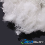 0.8DX 15mm Imitation White Goose Down/ Polyester Staple Fiber