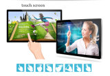 LCD 위원회 디지털 표시 장치 잘 고정된 Touchscreen 모니터 간이 건축물을 광고하는 22 인치
