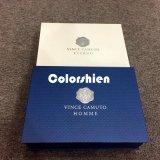 Boîte-cadeau se pliante de papier classique d'emballage avec la carte argentée