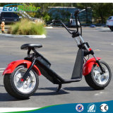 18 Inch Two Wheel 1000W Harley Fat Tires Scooter elétrico, Citycoco Scooters elétricos