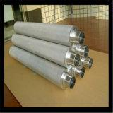 Filtro em caixa aglomerado de elemento de filtro do pó de metal do aço inoxidável/cilindro do filtro/