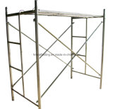 Polvere Coated Painted Walk Through Frame H Scaffolding Made in Cina per Sales