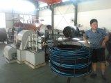 """3/8 """" SAE100 R2at Draht-umsponnener hydraulischer Gummischlauch"""
