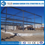 Struttura di tetto metallica del magazzino prefabbricato del Godown del gruppo di lavoro della struttura d'acciaio