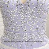 A - линия перо краткости lhbim отбортовала платье выпускного вечера коктеила кристаллов Backless