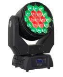 свет мытья 19PCS 15W RGBW СИД Moving головной с сигналом