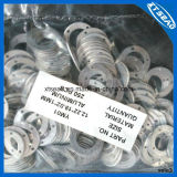 Алюминиевое медное латунное набивка Nylon шайбы волокна