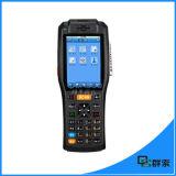 Androïde industriel de WiFi de Bluetooth 1d 2D du scanner terminal tenu dans la main PDA de code barres