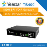 Yeastar 1/2/4 di riga Gateway del Isdn Bri di SIP Rrotocal VoIP