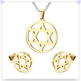 De Reeks van de Juwelen van de Juwelen van het Roestvrij staal van de Juwelen van de manier (JS0207)