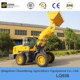 Lq936 de Lader van het Wiel van China met Bedieningshendel en ProefControle