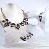 Ожерелье браслета серьги ювелирных изделий способа нового Jewellery способа смолаы деталя цветастого установленное