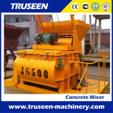 Máquina inteiramente automática da construção do misturador Js500 concreto para o projeto de edifício