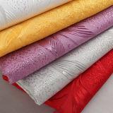 Классицистическая ткань полиэфира с большой вышивкой