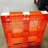 Superfície resistente da grade e pálete lisa plástica antiderrapante para logístico