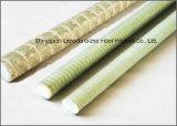 Rebar de alta resistencia de Pultruded de la fibra de vidrio de FRP para los componentes del edificio