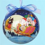 Colle en cristal de Anti-Jaunissement claire de baisse de boule de Noël