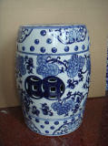 Porcelana Blue e White Stool (LS-25)