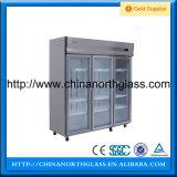 최신 판매 강화 유리 냉장고 유리
