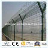 Heißer eingetauchter galvanisierter Zaun-Sicherheits-Flughafen-Zaun