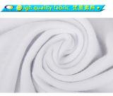 Coutume 120, 130, 160, 180, 220 T-shirt de blanc de coton de GSM 100