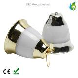 Éclairages LED décoratifs de décoration de Noël de lampe de type de Bell de vacances
