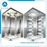 coste de la cabina del elevador 800kg, cabina de la elevación del pasajero (OS41)