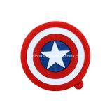 Clé de mémoire USB de capitaine Amérique d'OEM de disque de flash USB de dessin animé