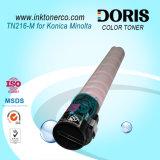 Color Toner Polvo Japón Tomoegawa Tn216 Copiadora para Konica Minolta Bizhub C220 C280 C360 Máquina Fotocopiadora