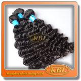 Cheveux brésiliens de Vierge de vague profonde de prix de gros de gros