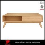 Mesa de centro de madeira moderna da mobília da sala de visitas