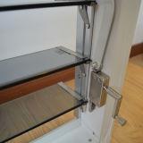 Finestra di vetro di alluminio dell'otturatore Kz129 con la serratura storta