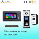 "7 "" Gateway를 가진 심상 Recording Intercom Video Door Phone"