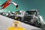 Sensor llano de combustible diesel para la supervisión del combustible