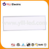 TUV Ce Certification Silver Aluminum LED Panel met Euro Plug