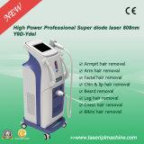 Macchina non dolorosa di rimozione dei capelli del laser del diodo del laser 808 nanometro di verticale