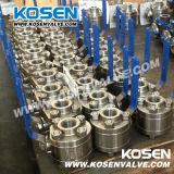 Шариковый клапан 3PC кованой стали (Q61F)