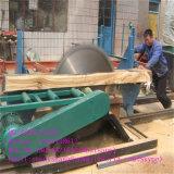 販売のためのキャリッジが付いている円のディーゼル木製の製材所