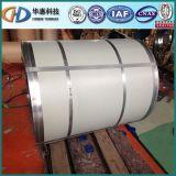 0.14mm SGCC Dx51d galvanizou a bobina de aço do material de construção do soldado